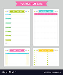 Planner Template For Business And Studying