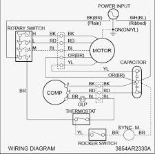 Home air conditioner wiring diagram