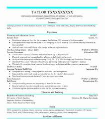 Demand Planning Analyst Resume Example C S Wholesale Grocers