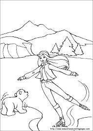 Barbie Magic Pegasus Coloring Pages Educational Fun Kids Coloring