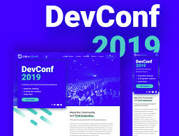 Visual Design Conferences 2019 Devconf 2019 Webdesign By Agata Kubiak On Dribbble
