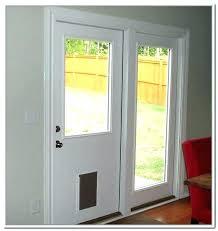 sliding door with dog door built in sliding door with dog door built in mind blowing