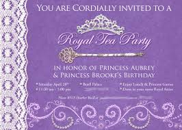 princess tea party invitations net princess tea party birthday invitations drevio invitations design party invitations