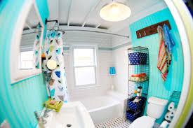 Eclectic House Tour - Beach Bathroom Decor Eclectically Vintage