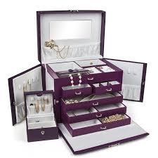 Jewelry box with lock teen