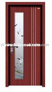 interior wooden glass door