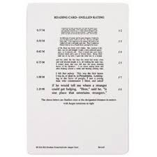 Snellen X Cyl Jaeger Card Science Lab Glasses Amazon Com