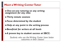 cartwright learning resources center tutoring in the writing tutoring in the writing center