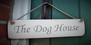 the dog house hanging sign 10 00 rope hanging signs austin sloan handmade wooden signs plaques and gift ideas