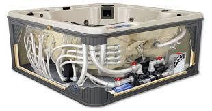 spa cutaway hot tub