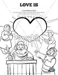 Coloring Pages For Sunday School 1 Love Is School Coloring Pages