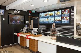 mcdonalds inside counter.  Inside And Now The Tiled Counter Has Been Replaced With Plastic To Mcdonalds Inside Counter P