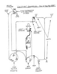 allis chalmers page 1 distributor push or pull start