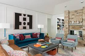 ... Living room, Bedroom Mid Century Modern Living Room With Fireplace  Banquette Garage Shabby Chic Style ...