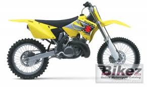 2002 suzuki rm 250 specifications and pictures