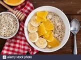 banana orange oatmeal  porridge