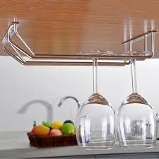 Wine Glass Hangers Under Cabinet Popular Wine Glass Hanger Buy Cheap Wine Glass Hanger Lots From