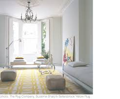 yellow white rugs pillows and doors