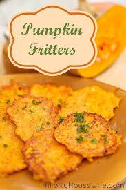 pumpkin fritters hillbilly housewife