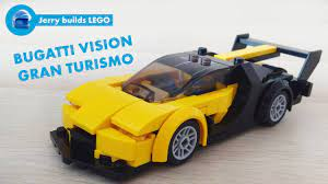 All pieces from the 75878 set only. Lego Bugatti Vision Gran Turismo Conceptcar Instructions Moc 11 Youtube