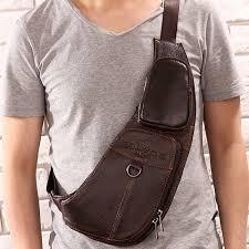 Man Cross Body Bag Designer Us 20 51 29 Off High Quality New Cowhide Genuine Leather Men Messenger Shoulder Cross Body Bag Travel Famous Designer Brand Sling Chest Day Pack On