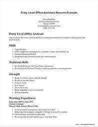 Entry Level Medical Assistant Resumes Samples Resume Resume