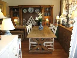 white farmhouse table oak with black chairs
