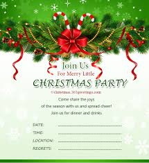 Template For Christmas Party Invitation Christmas Invitation Template And Wording Ideas Christmas