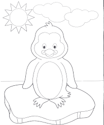 Cute Baby Penguin Coloring Pages At Getdrawingscom Free For