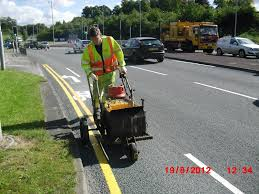 double yellows permanent road markings permanent road marking