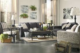 Informal Living Room Adorable Off White Wall Painted Also Cool Charcoal Sofa And Table
