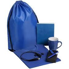<b>Набор Welcome Kit</b>, синий