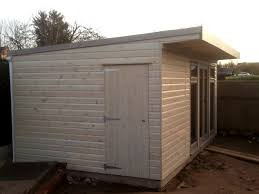 outdoor garden office. a recently installed garden office in devon by sheds direct limited. outdoor