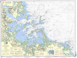 Neponset Reservoir Depth Chart Noaa Nautical Chart 13270 Boston Harbor Boston Harbor