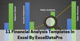 Financial Template For Excel 11 Financial Analysis Templates In Excel By Exceldatapro
