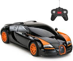 Your destination for buying bugatti. Amazon Com Rastar Rc Car 1 24 Bugatti Veyron 16 4 Grand Sport Vitesse Radio Remote Control Racing Toy Car Model Vehicle Black Orange Toys Games