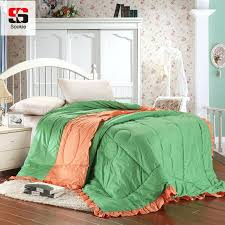 Sookie 100 Cotton Summer Quilt Solid Color Bed Dot Print Thin ... & Sookie 100 Cotton Summer Quilt Solid Color Bed Dot Print Thin Comforter  Stiching Duvet Blanket Summer Adamdwight.com