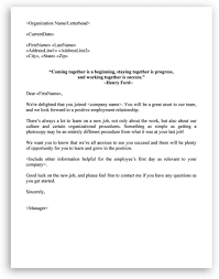New Hire It Checklist New Hire Checklist And Welcome Letter Included In Hr Letters