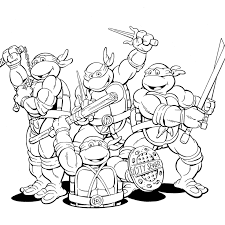 Small Picture Ninja Turtle Coloring Page Marvellous brmcdigitaldownloadscom
