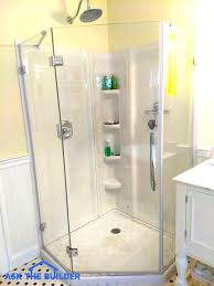 acrylic shower wall panel sophisticated panels glass home depot