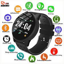 LIGE 2019 <b>New Smart health Wristband</b> Blood Pressure Heart Rate ...