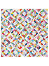 Quilt Patterns - Promise of Spring Quilt Pattern & This quick and easy pattern promises springtime fun! Adamdwight.com