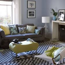 Living Rooms : Beautiful Yellow Living Room Plus Black White And ...