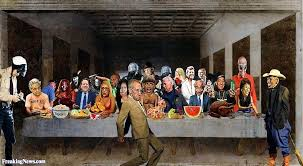 the political last supper