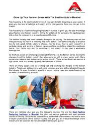 Fashion Designing Course Fees Details Grow Up Your Fashion Sense With The Best Institute In Mumbai