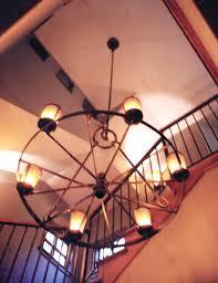 fancy wagon wheel chandeliers wagon wheel chandelier wagon wheel chandelier with downlights