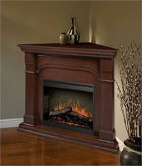 Corner Electric Fireplace TV Stand  Home Fireplaces Firepits Electric Corner Fireplace Tv Stand
