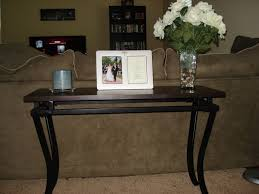 Sofa Table Decorations Bar Height Table Behind Couch Decorative Table Decoration