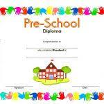 Pre Kindergarten Diplomas Free Printable Kindergarten Diploma Lsc