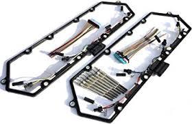 7 3 powerstroke engine wiring harness 7 3 image amazon com 97 03 ford powerstroke 7 3l diesel glow plug set on 7 3 powerstroke engine